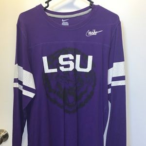 LSU Nike Long-Sleeved Shirt